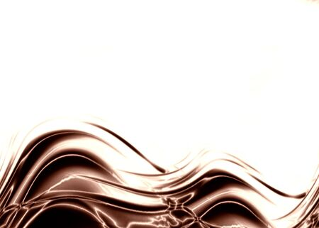 whirling: chocolate wave with some smooth lines in it Stock Photo
