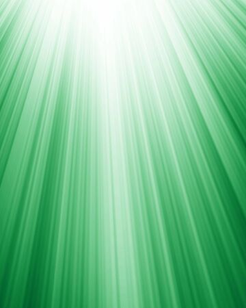 bright spotlight on a soft green background photo