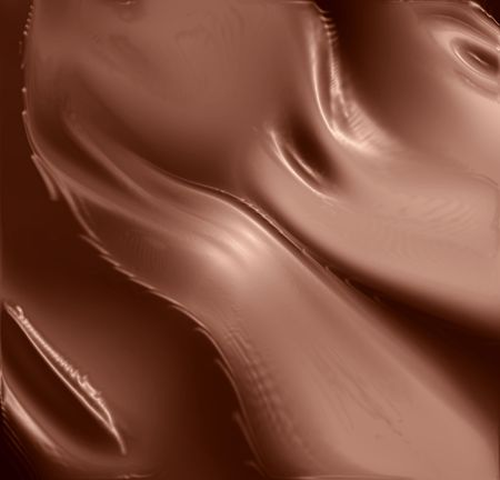 molten chocolate background with some smooth lines on it photo