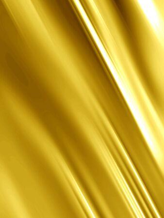 tissu or: Or soie avec certaines lignes lisses dans il  Banque d'images