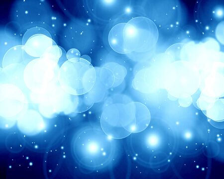 twinkling: Twinkling stars on a dark blue background