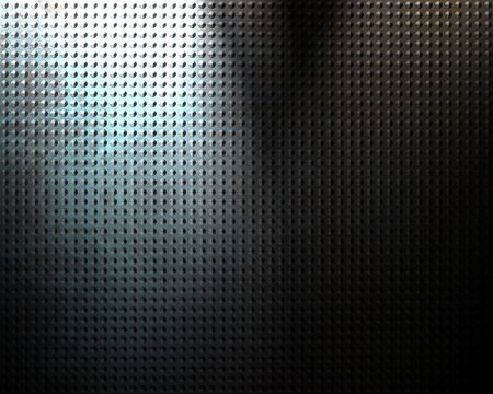 Brushed aluminium metal plate with some reflection Stock Photo - 5809294