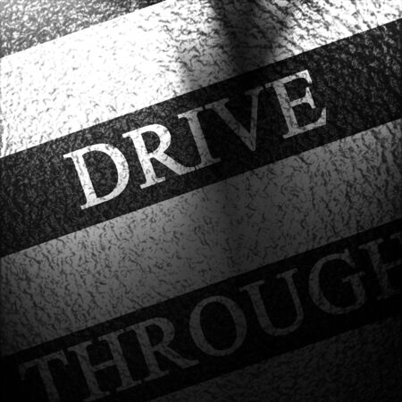 drive through: Asphalt background texture with some soft shades and spots