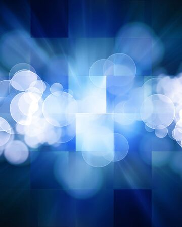 cubic: Abstract blue background with some cubic features in it