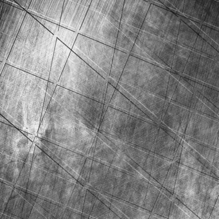 inox: Worn metal plate with reflected light in it Stock Photo