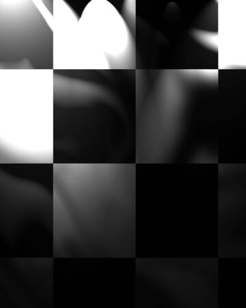 the fastest: chequered black and white flag with folds