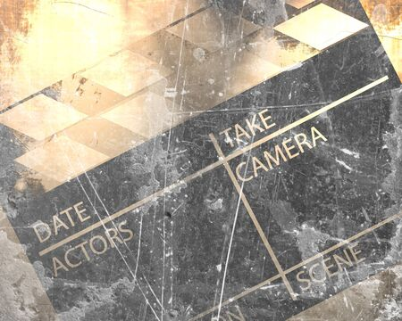 Old grunge clapboard on a vintage background photo