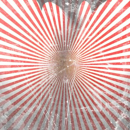 Abstract red rays on a white background Stock Photo - 10342040