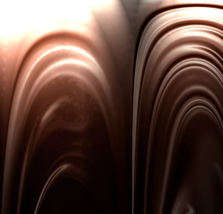 chocolate swirl: Chocolate swirl with some smooth lines in it