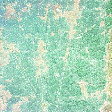 green reptile skin with some damage on it Stock Photo - 10341861