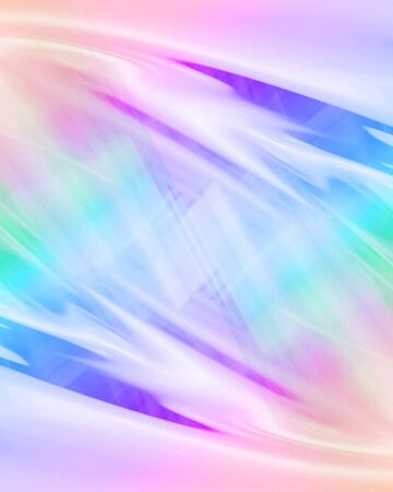 rainbow background with some smooth lines in it Imagens - 10340822