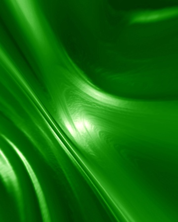 green paint with some smooth lines in it photo