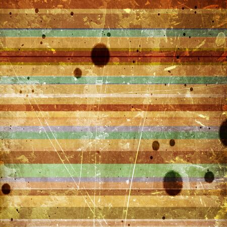 striped background with some stains on it Stock Photo - 10344332
