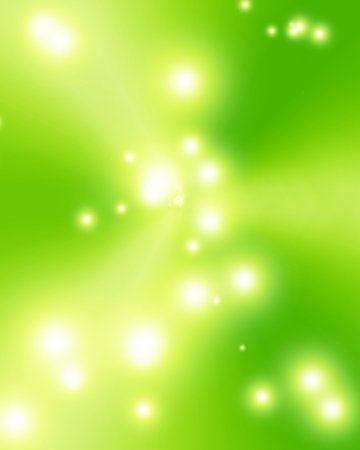 Green and fresh background with soft highlights and sparkles photo
