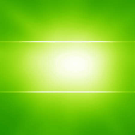 Green and fresh background with smooth lines and highlights photo