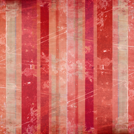 Vintage striped background with some damage in it