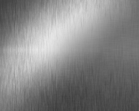 Brushed metal plate with reflected light Stock Photo - 14840849