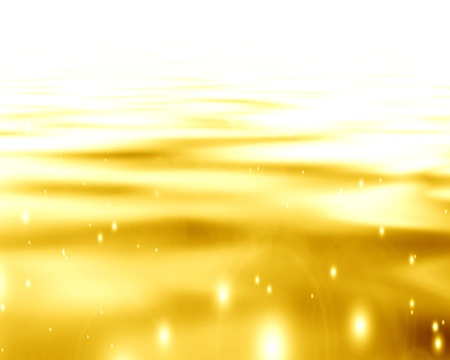 solid background: Golden background with some reflections and line effects