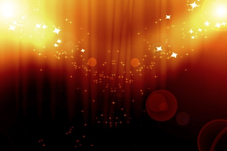 Curtain background with spotlights Stock Photo - 14949188
