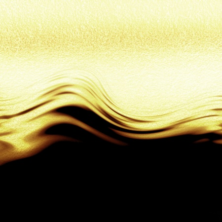 Golden background with some reflected light and highlights Stock Photo - 14949426