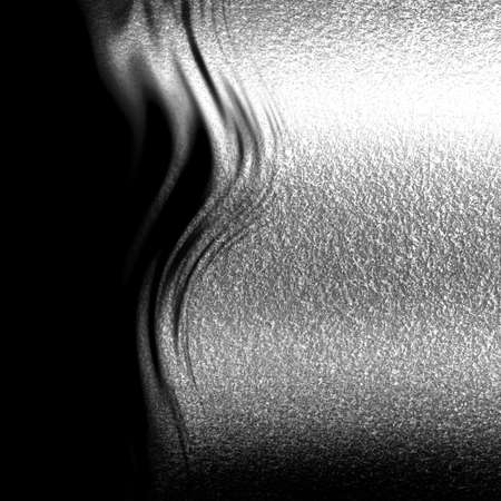 Brushed metal texture with some reflections and highlights photo