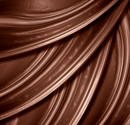 Chocolate background with some soft shade and highlights photo