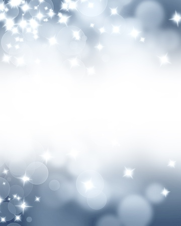 Silver glitters on a soft blurred background with smooth highlights Stock Photo - 14948748