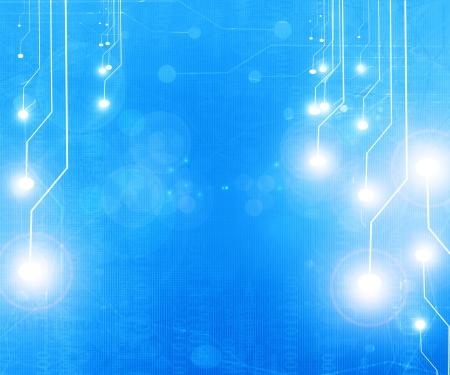 Computer circuit photo