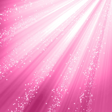 feminine background: Pink background with smooth highlights and shades Stock Photo