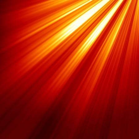 Red spot light with room for an added object Stock Photo - 15009415