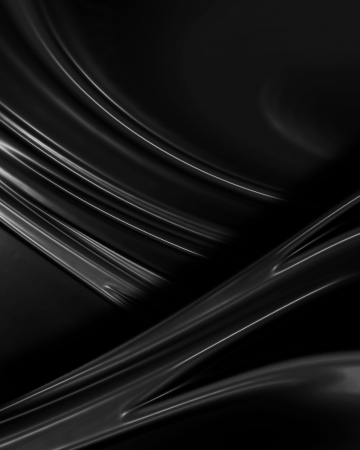 shiny black: Black background resembling cloth, canvas, paint, silk or satin material with waving lines