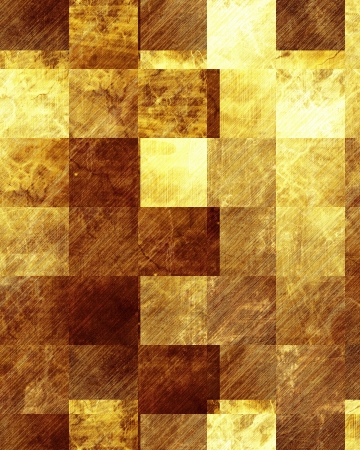 Golden background with some reflected light and highlights Stock Photo - 15009617