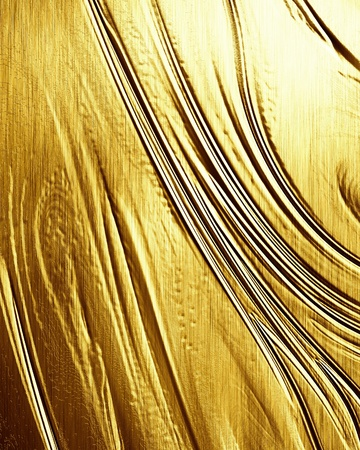 Golden background with some reflected light and highlights Stock Photo - 15009618