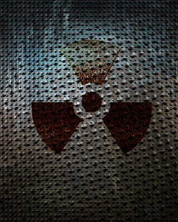 Nuclear sign representing the danger of radiation Stock Photo - 15140491