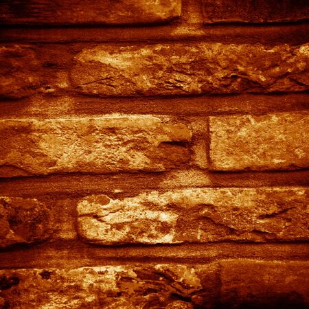 Grunge brick wall with some damage and cracks Stock Photo - 15140597