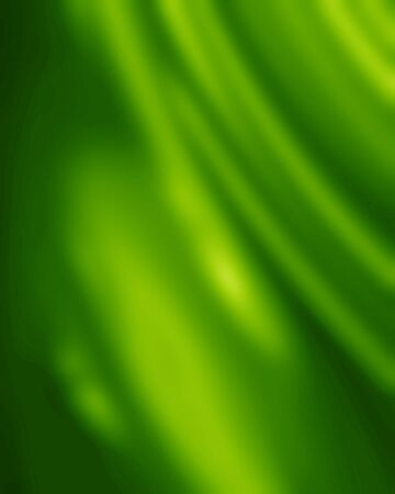 satiny: Green silk background with some soft folds and highlights Stock Photo