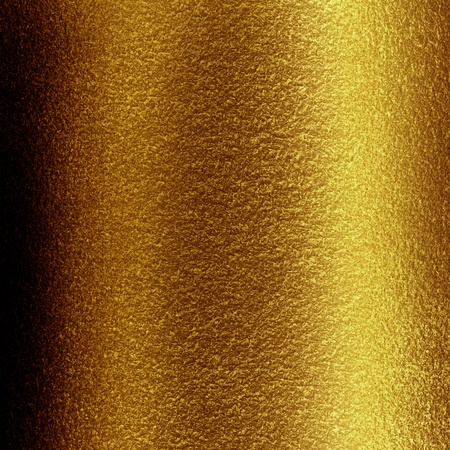 brushed gold: Golden background with some reflected light and highlights Stock Photo