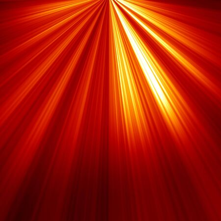 Red spot light with room for an added object Stock Photo - 15140064