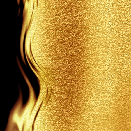 Golden background with some reflected light and highlights Stock Photo - 15140591