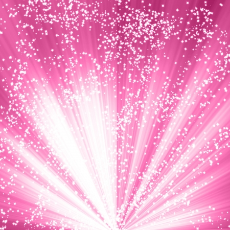 highlights: Pink background with smooth highlights and shades Stock Photo
