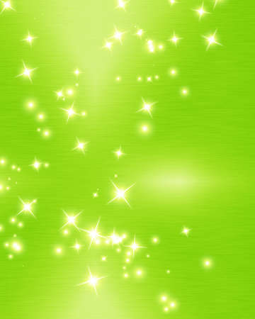 Green and fresh background with soft highlights and sparkles Stock Photo - 15612679