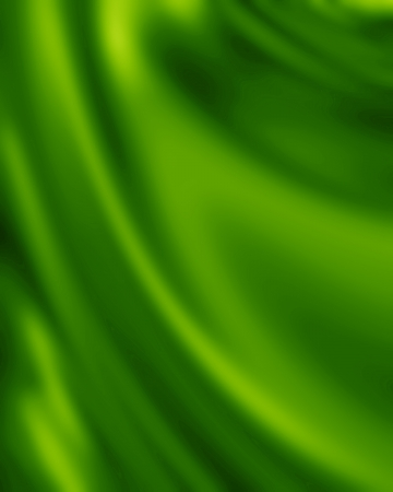 artsy: Green silk background with some soft folds and highlights Stock Photo