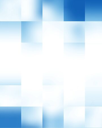 Blue rectangular glowing blocks background with some soft highlights Stock Photo - 15612574