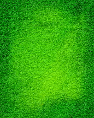 yards: Green and fresh grass background with soft highlights Stock Photo