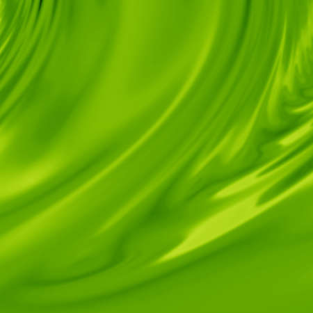 silky: Green silk background with some soft folds and highlights Stock Photo