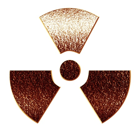 Nuclear sign representing the danger of radiation  Stock Photo - 15612695