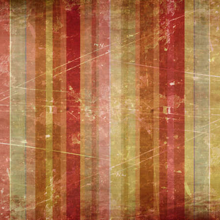 Vintage striped background with some damage in it photo