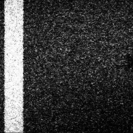 granular: Asphalt texture with some shades and white line