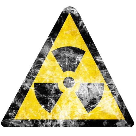 Nuclear sign representing the danger of radiation Stock Photo - 15612753