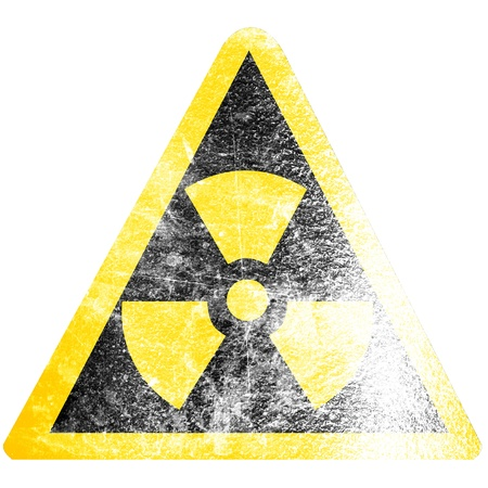 Nuclear sign representing the danger of radiation  Stock Photo - 15612774